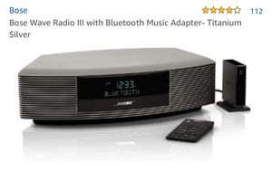 Bose radio with remote and blue tooth for Sale in Scottsdale, AZ