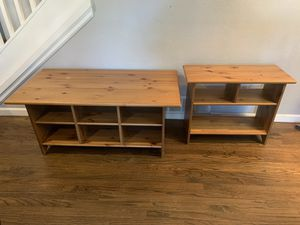 Coffee table and side table for Sale in Aurora, CO