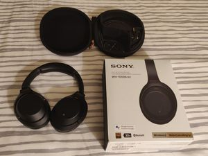 Sony WH-1000XM3 Like-New Noise Cancellation Headphone for Sale in Bellevue, WA