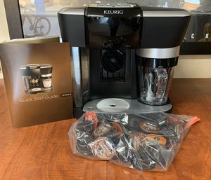 Keurig specialty coffee machine + coffee for Sale in Cave Creek, AZ