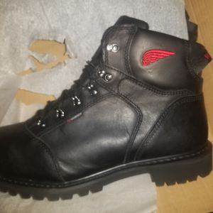 Red Wing steel toe boots size 13 wide for Sale in Romulus, MI