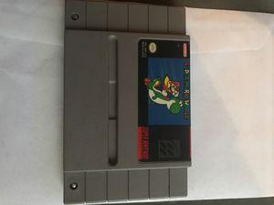 Super Mario World Super Nintendo retro game for Sale in Rosedale, MD