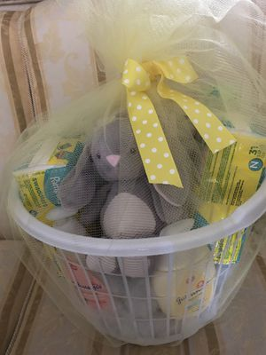 Custom made baby baskets for Sale in Orlando, FL