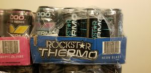 Rockstar energy drink Neon Blast 24/16oz for Sale in Bay City, MI