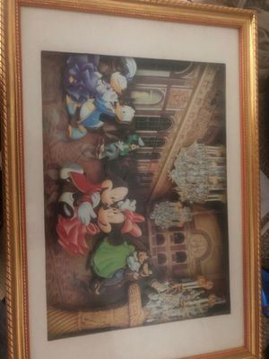 Disney three dimensional picture for Sale in Anaheim, CA