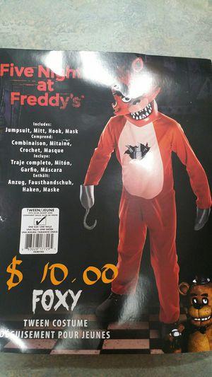 Five Nights at Freddys Foxy Halloween Costume for Sale in Hemet, CA