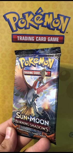 Pokemon Cards Booster Pack Sun & Moon Burning Shadows for Sale in Los Angeles, CA