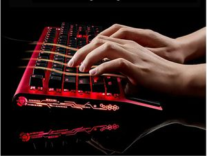 Mechanical Gaming Keyboard, LANGTU All-Metal Panel USB Wired Computer original price is $48 new in box for Sale in Las Vegas, NV