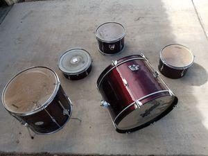 Drum set (5) pieces for Sale in Las Vegas, NV