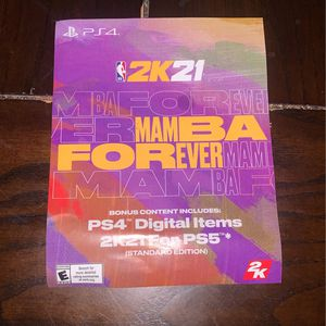PS5 Code For 2k21 for Sale in Houston, TX