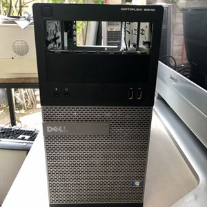 EMPTY PC CASE OPTIPLEX 3010 DELL- Emty CASE- USE FOR BUILDING COMPUTER -IN GOOD CONDITION for Sale in Garden Grove, CA