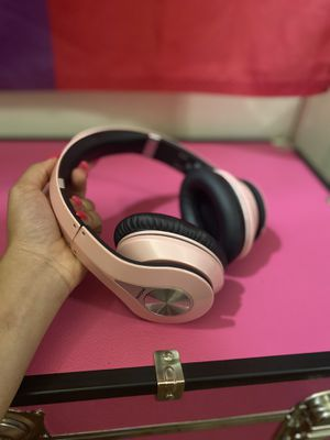MPOW Pink Wireless Headphones for Sale in Houston, TX