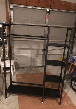 Gelinzon Hall Tree Entryway Storage Shelves, Multipurpose Coat Rack for Hallway for Sale in Suffolk, VA