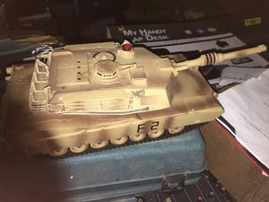 Toy tank battery operated miniature for Sale in Jacksonville, FL