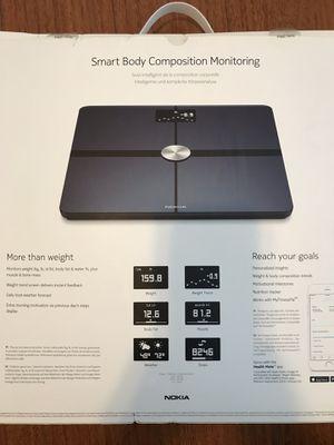 Nokia Body+Body Composition WiFi Scale for Sale in Richmond, CA