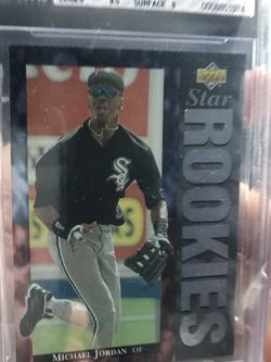 Michael Jordan Baseball Rookies! Graded 8 for Sale in Portland,  OR