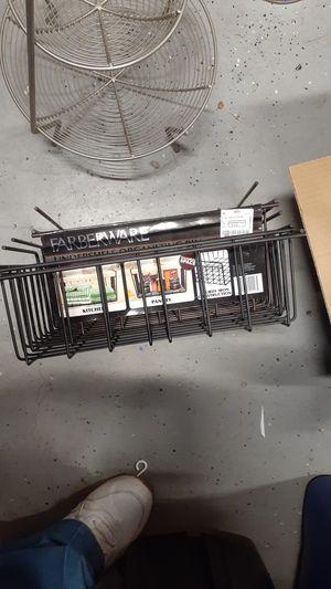 Fruit basket dish rack and under shelf storage for Sale in Fontana, CA