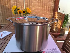 All Clad d5 12 quart stockpot brushed stainless and brand new for Sale in Stockton, CA