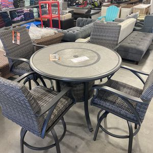 Sunvilla Indigo 5-piece High Dining Set New!!! $999.99! for Sale in Hacienda Heights, CA