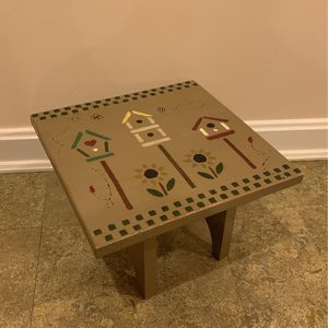 Handmade and Painted Mini Table for Sale in Manassas, VA