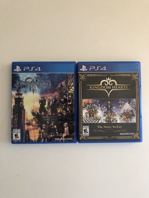 Kingdom Hearts HD 1.5, 2.5, 2.8 and 3 - PlayStation 4 for Sale in Rochester, NY