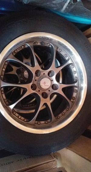 Vöxx racing rims and tires for Sale in Tacoma, WA