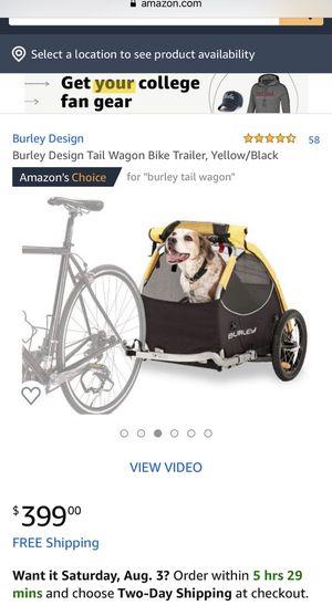 Burley Design Tail Wagon Bike Trailer for Sale in Frisco, TX