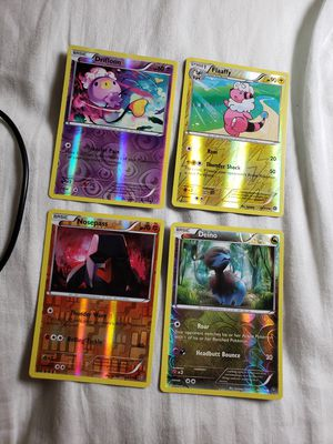 4 Various Reverse Holo Pokemon Cards for Sale in Rockville, MD