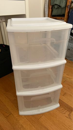 Plastic Drawers - $5 for Sale in Los Angeles, CA