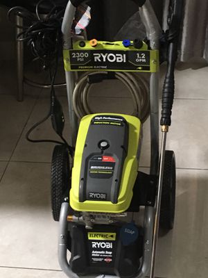 2,300 PSI 1.2 GPM High Performance Electric Pressure Washer for Sale in Glendale, AZ