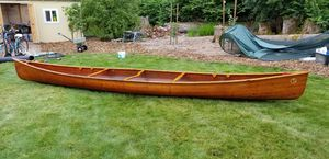 18' Cedar Woodstrip Canoe for Sale in Auburn, WA