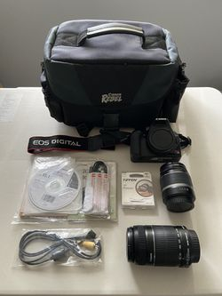Canon Camera Bundle (2 lenses included) for Sale in San Jose,  CA