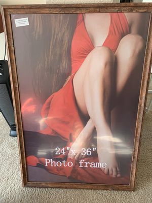 Wood Photo frame 24x36 for Sale in San Jose, CA