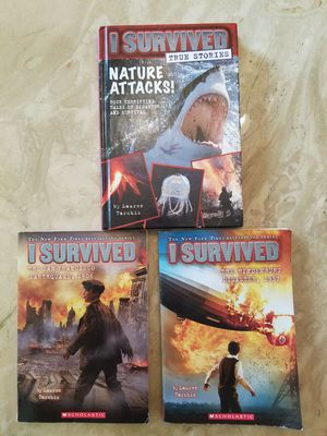 Books for kids: I survived: best selling series for Sale in Cleveland, OH