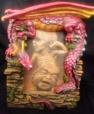 Red Dragon picture frame for Sale in Amherst, VA