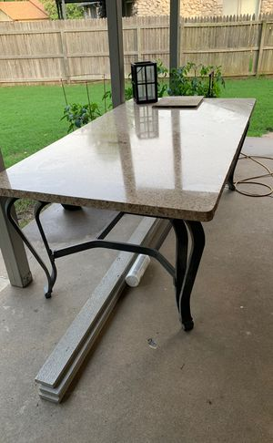 Nice granite table with 6 chairs for Sale in Broken Arrow, OK