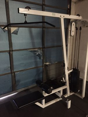 Lat Pulldown Machine commercial quality for Sale in Glendale, AZ