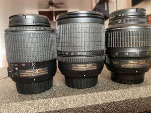 Nikon lenses for Sale in Phoenix, AZ