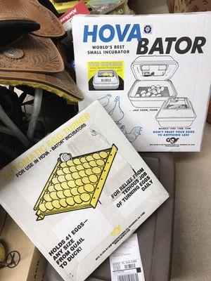 Hova baton incubator and egg turner for Sale in Palm City, FL