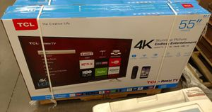 "55"" TCL Tv 4K roku smart Led Only $249.99 for Sale in Corona, CA"