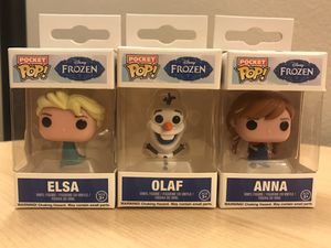 Pop Pocket Frozen Set Collectible Toys by Funko for Sale in Tustin, CA