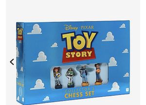DISNEY PIXAR TOY STORY COLLECTOR'S CHESS SET for Sale in Cary, NC