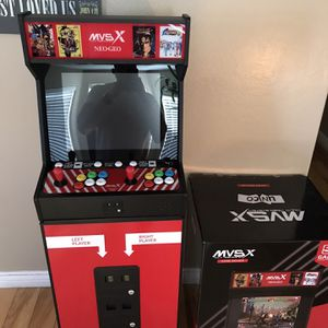 Original MVs Arcade New With 50 Game Slots for Sale in Tolleson, AZ