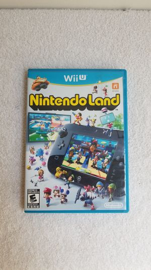 Nintendo land wii u for Sale in Pasadena, CA