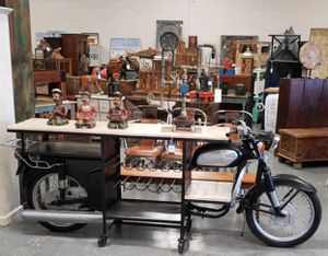 Motorcycle Console Table for Sale in Medley, FL