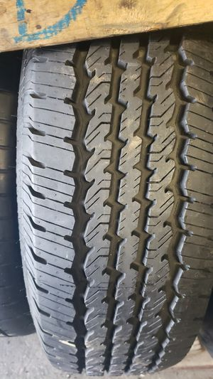 2 tires with size 275/70/18 for Sale in Washington, DC