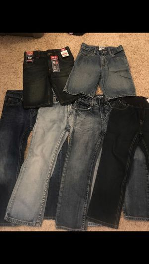 Boys denim pants and shorts (size 7) for Sale in St. Charles, IL