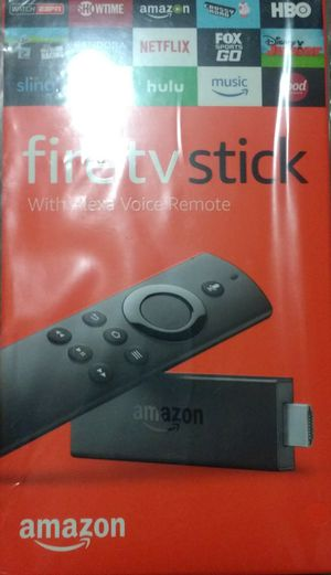 Brand new fire TV stick with voice control remote (2nd Generation) for Sale in Bentonville, AR
