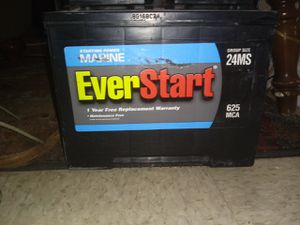 Deep cycle marine battery for Sale in Orange, TX