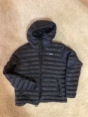 patagonia down hooded jacket L for Sale in Portland, OR